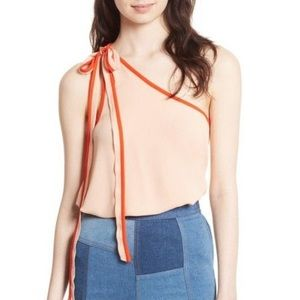 Free People You're the One Tie Shoulder Tank B1816